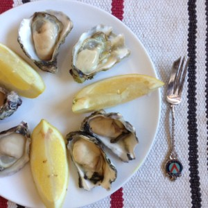 Oysters and Lemons