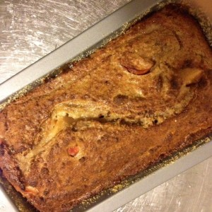 Cinnamony Apple and Banana Bread Loaf