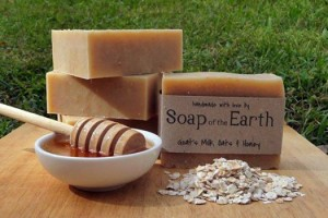 Soap of the Earth - all natural ingredients, amazing to use!